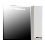 Шкаф зеркальный АКВАТОН Диор 800 мм правое 1A168002DR01R купить