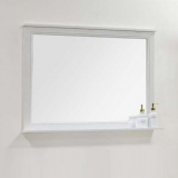 Зеркало АКВАТОН Идель 1050 мм дуб белый 1A197902IDM70 купить
