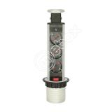 Розетка встраиваемая MEBAX серый MX-060-3SV купить