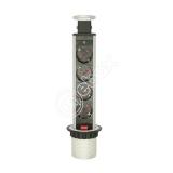 Розетка встраиваемая MEBAX серый MX-060-4SV купить