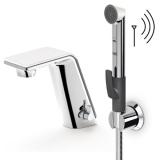 Смеситель для раковины бесконтактный с гигиеническим душем ORAS Alessi Sense 3В 8712F купить