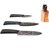 Набор ножей MIKADZO Imari black 4992023 купить