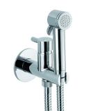 Купить: Гигиенический душ встраиваемый со смесителем WEBERT Elio хром EL 870303.015PVC