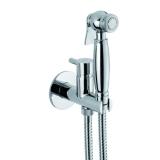 Гигиенический душ встраиваемый со смесителем WEBERT Elio хром EL 870302.015 купить