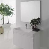 Комплект мебели NOVELLO SIRIO Montech L Rovere Grigio 95 см купить